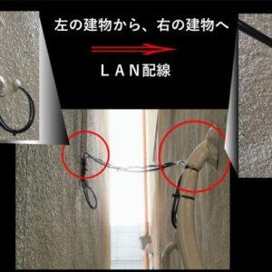 LAN配線工事(大阪府四条畷市)